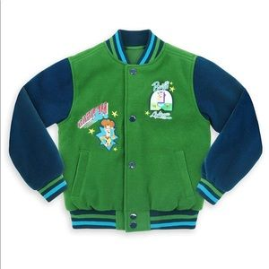 Disney Toys Story Varsity Jacket for Boys Sz 4
